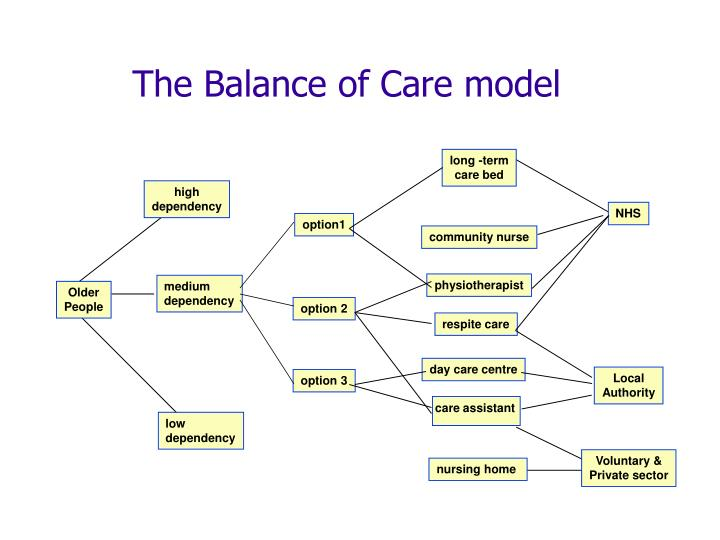 The Balance of Care model