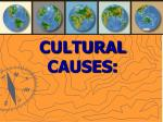 cultural causes
