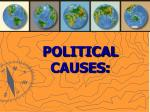 political causes