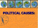 political causes38