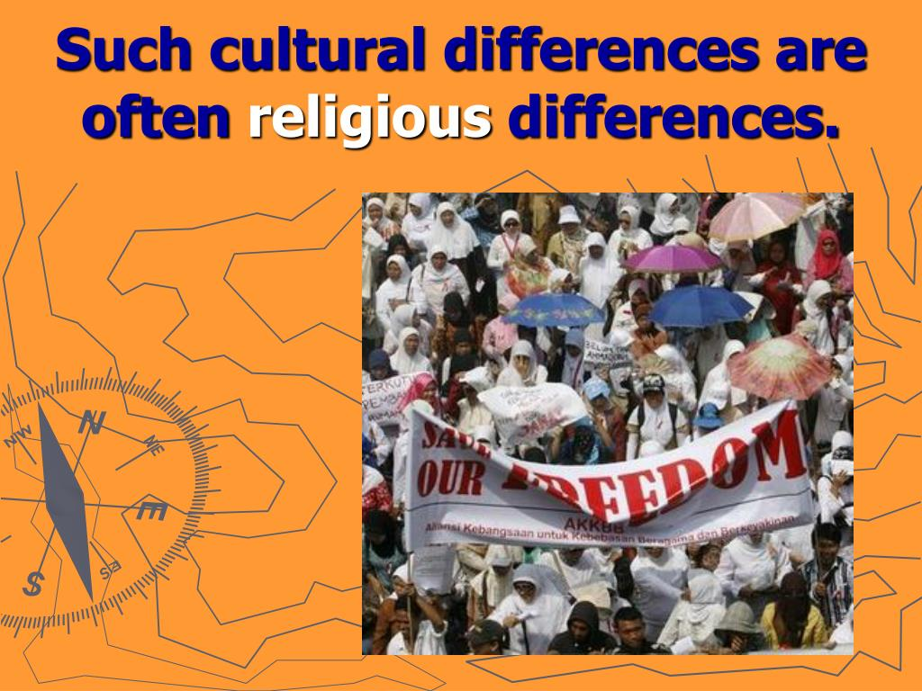 Such cultural differences are often