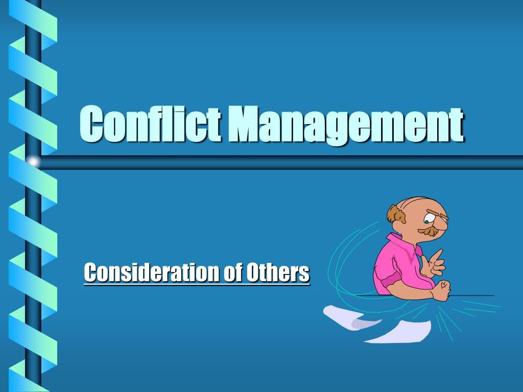 conflict management l.