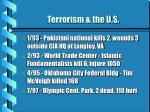 terrorism the u s8