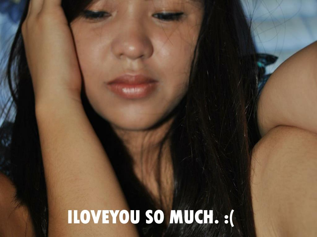 ILOVEYOU SO MUCH. :(