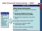 new financial instruments 2007