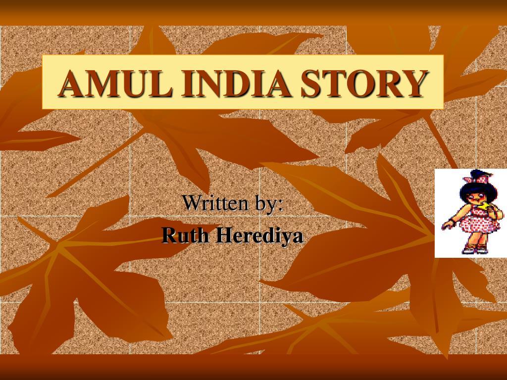 amul india story l.