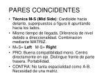 pares coincidentes2