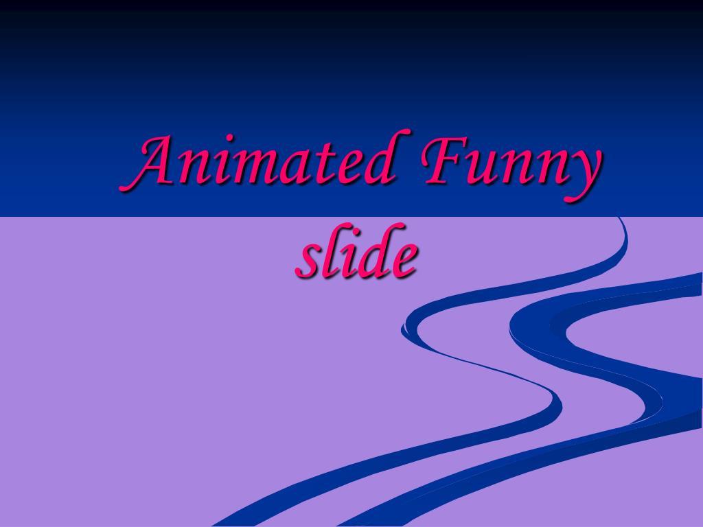 animated funny slide l.