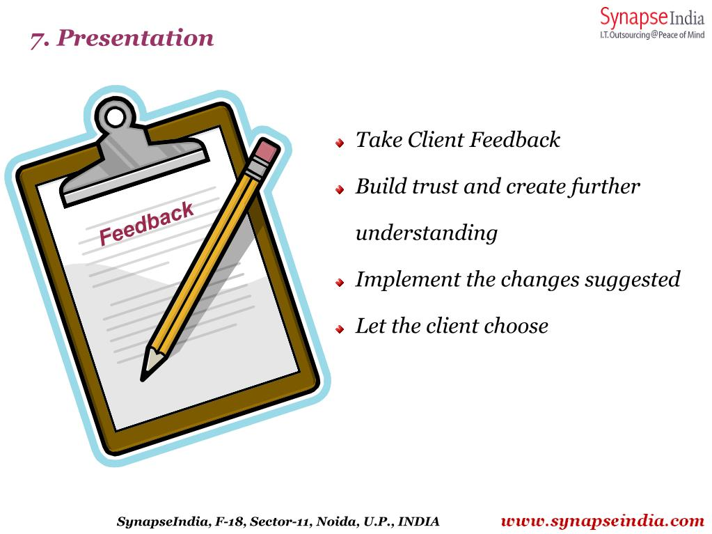 7. Presentation