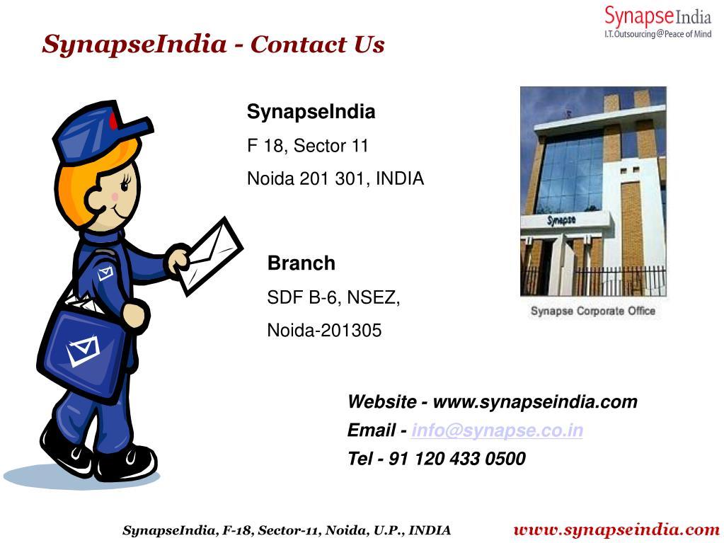 SynapseIndia -