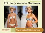 ed hardy womens swimwear4