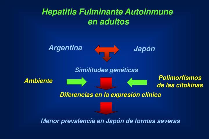 Hepatitis Fulminante Autoinmune