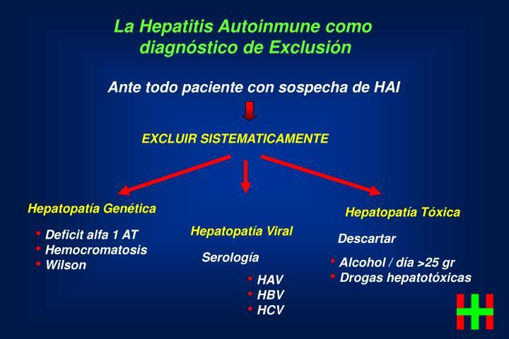 La Hepatitis Autoinmune como