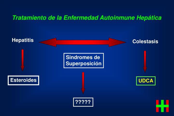 Tratamiento de la Enfermedad Autoinmune Hepática