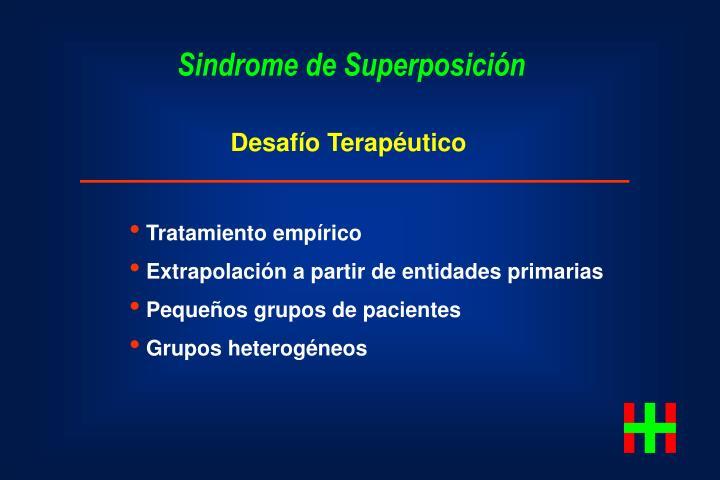Sindrome de Superposición