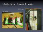 challenges ground loops