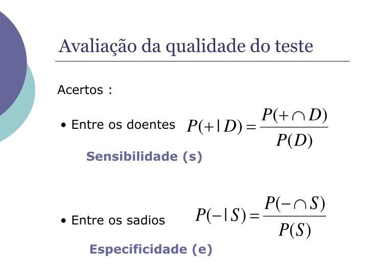 Especificidade (e)