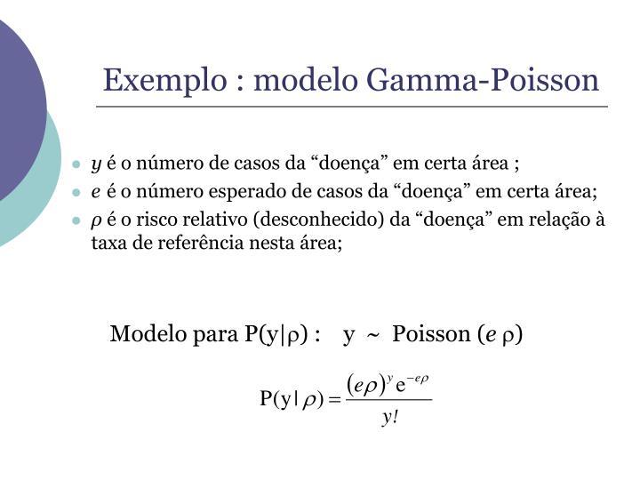 Modelo para P(y|