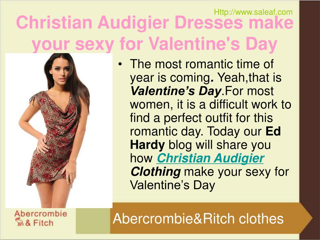 christian audigier dresses make your sexy for valentine s day l.