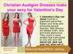 christian audigier dresses make your sexy for valentine s day2