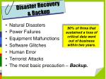 disaster recovery backup