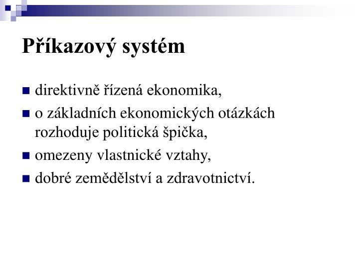 Příkazový systém