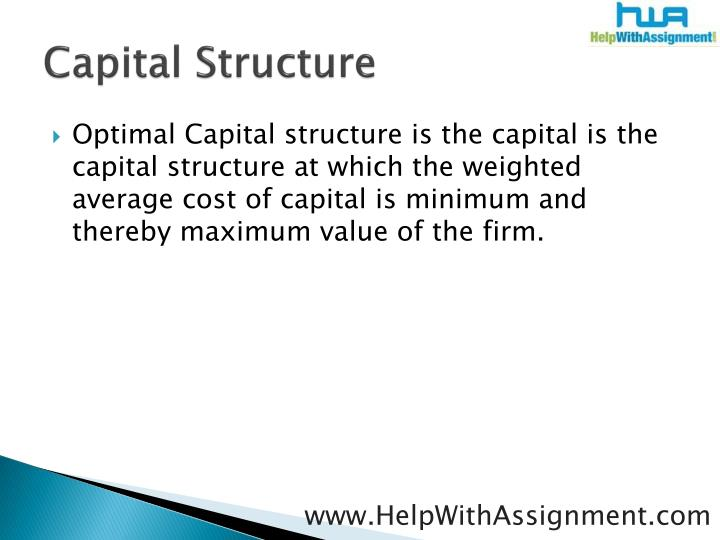 Capital structure3