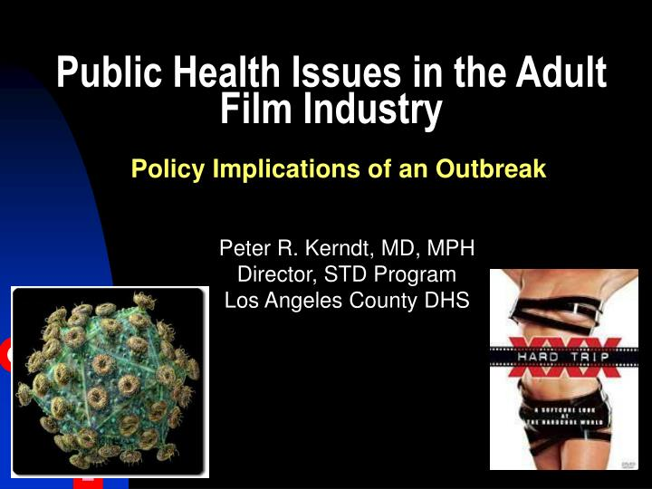 public health issues in the adult film industry n.