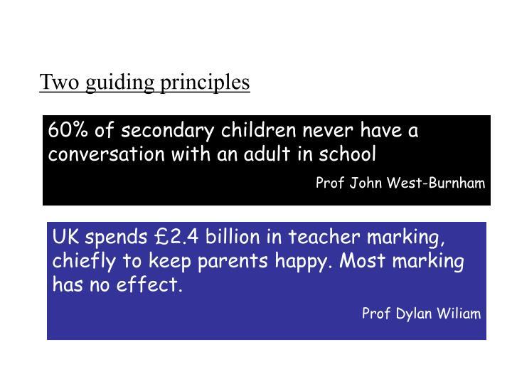 Two guiding principles