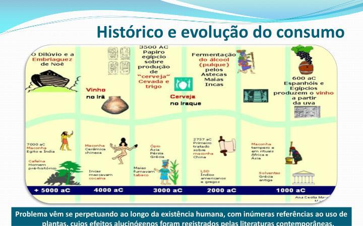 Histórico e evolução do consumo