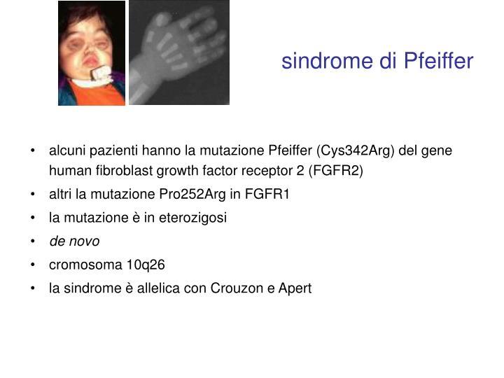 sindrome di Pfeiffer