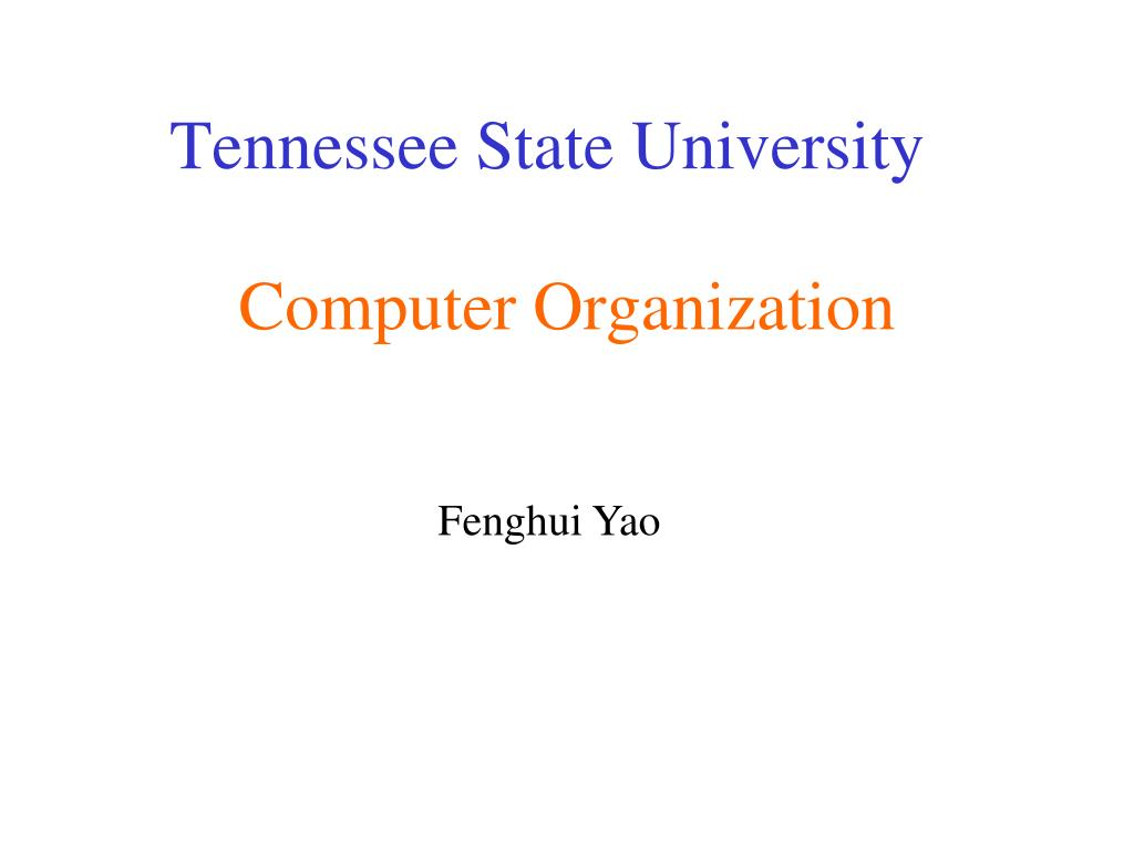computer organization l.