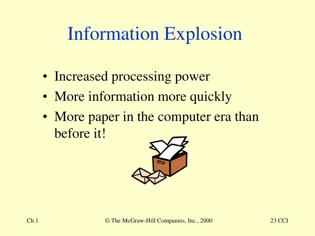 Information Explosion