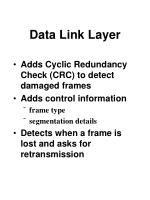 data link layer88