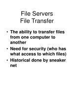 file servers file transfer