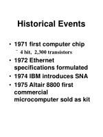historical events16