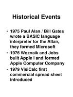 historical events17