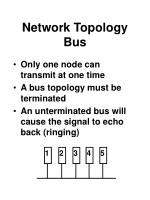 network topology bus54