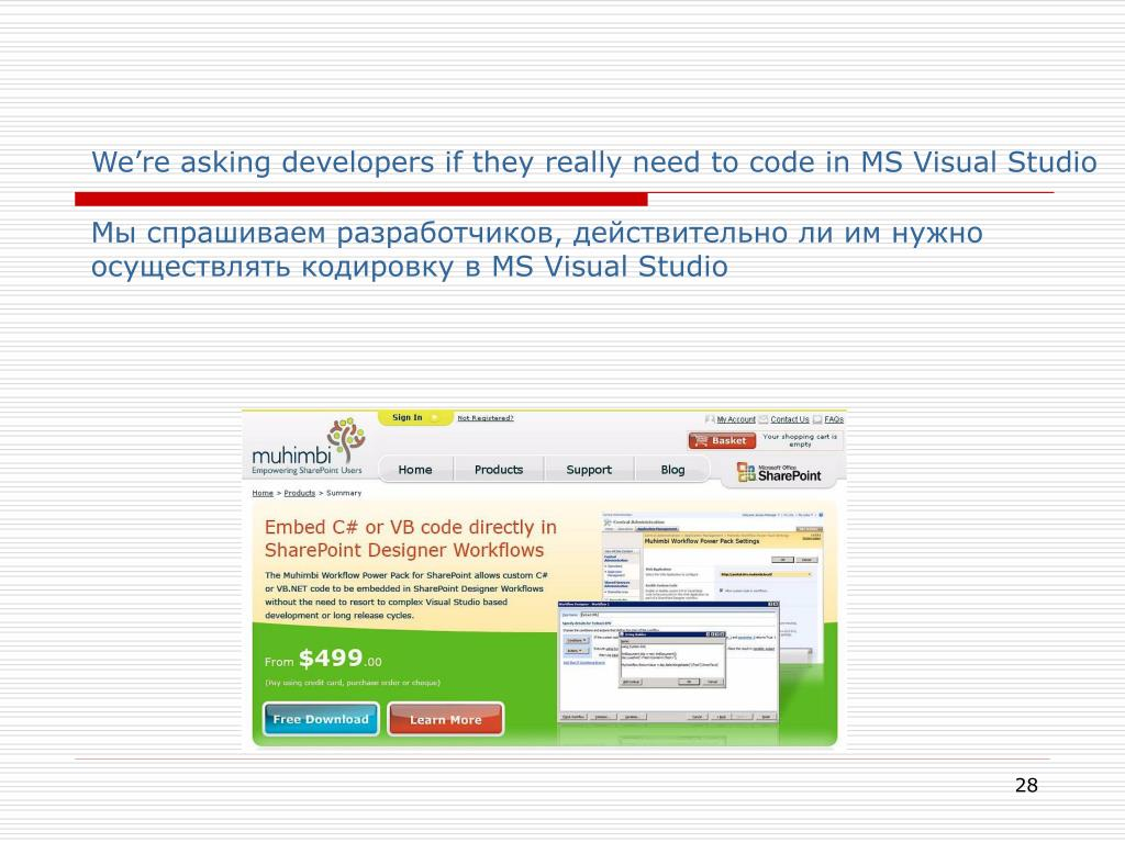 We're asking developers if they really need to code in MS Visual Studio
