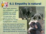 6 1 empathy is natural