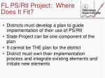 fl ps rti project where does it fit