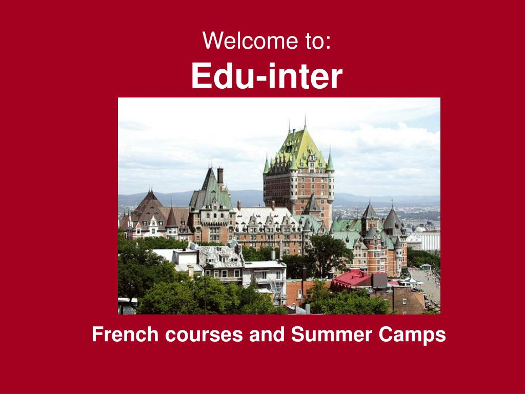 welcome to edu inter l.