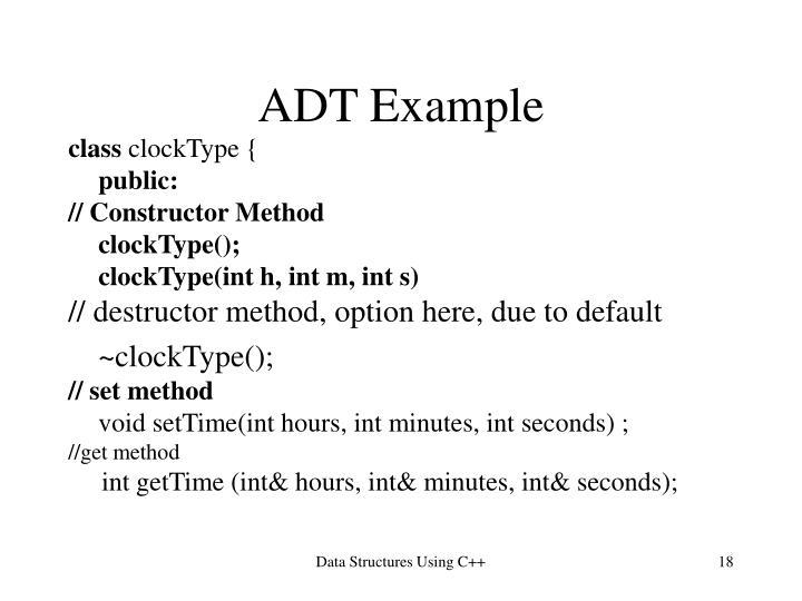 ADT Example