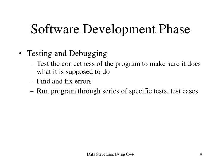 Software Development Phase