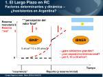 1 el largo plazo en rc factores determinantes y din mica inexistentes en argentina1
