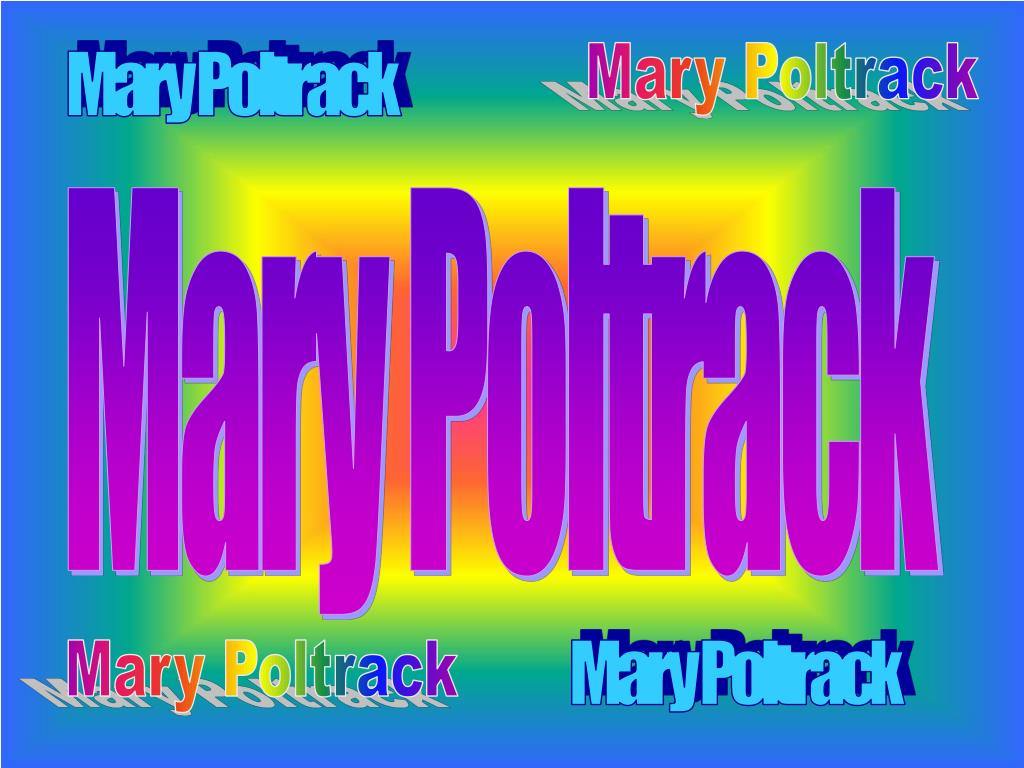 Mary Poltrack
