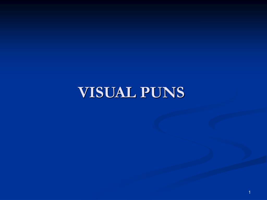 visual puns l.
