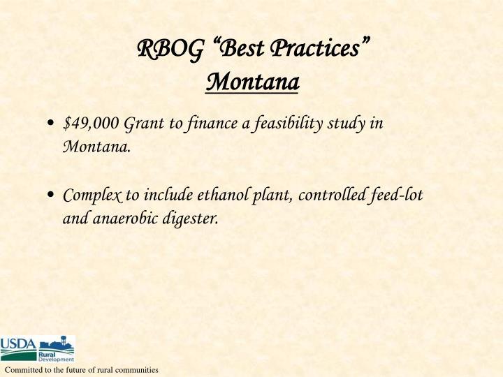 "RBOG ""Best Practices"""