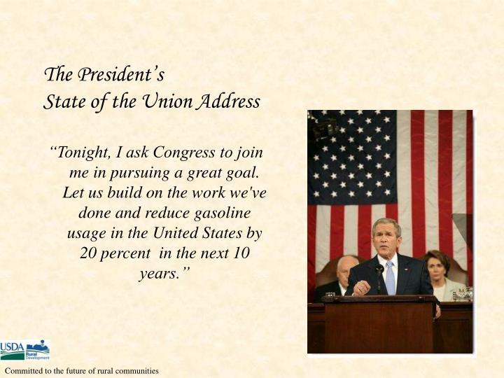 The President's