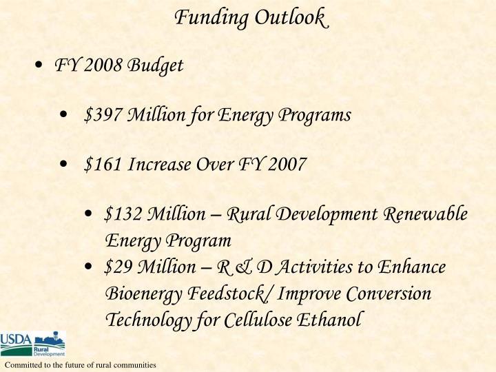 Funding Outlook